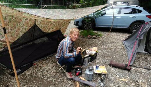 ヴィンテージ大好き・じゅんいちダビッドソンのキャンプテントとギアや車の紹介