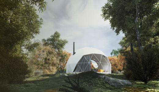 グランピング用ドームテント・F.domes(Fドーム)の価格やオプション、体験できる施設紹介