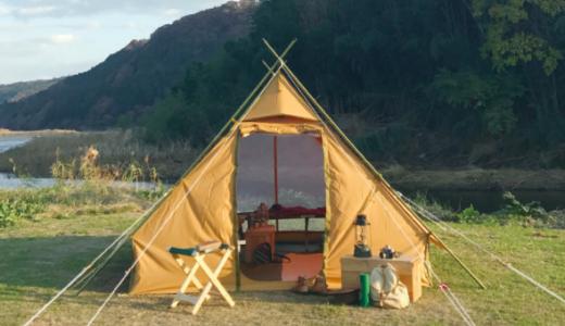 おしゃれキャンパーYURIEの愛用テントや愛車を紹介|おぎやはぎのハピキャン Season3ゲスト