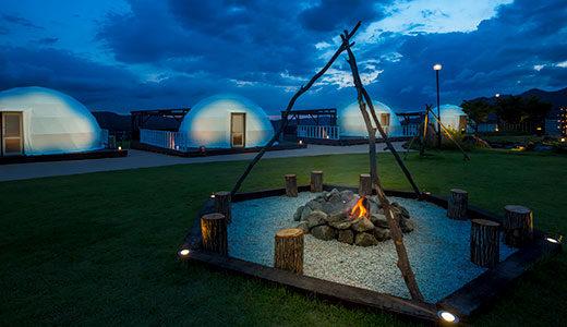 【兵庫】グランドーム神戸天空の温泉付きグランピング料金プランや食事・アメニティーまとめ|関西で温泉&夜景グランピング
