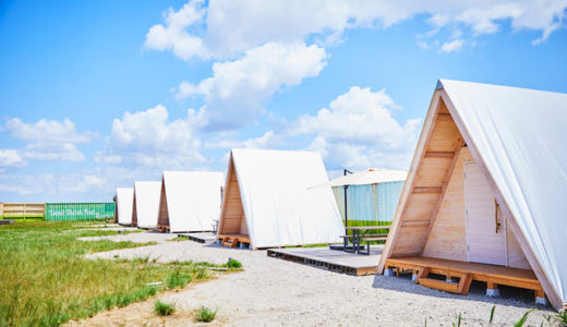 【木更津】WILD BEACH SEASIDE GLAMPING PARKの宿泊グランピング利用料金や食事メニューに口コミまとめ