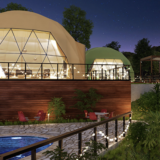 【兵庫県淡路島】グランピングリゾートAwajiの料金プランや食事メニュー・設備アメニティまとめ|淡路初のドームテント