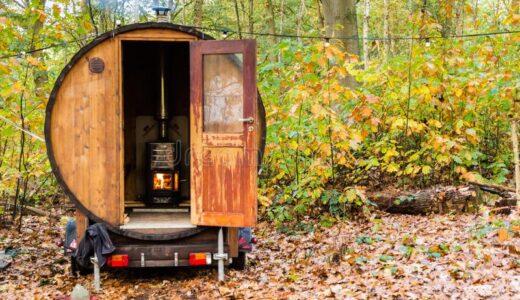 屋外用フィンランド式サウナのおすすめブランド4選|キャンプ場やグランピングにアウトドアサウナをプラス
